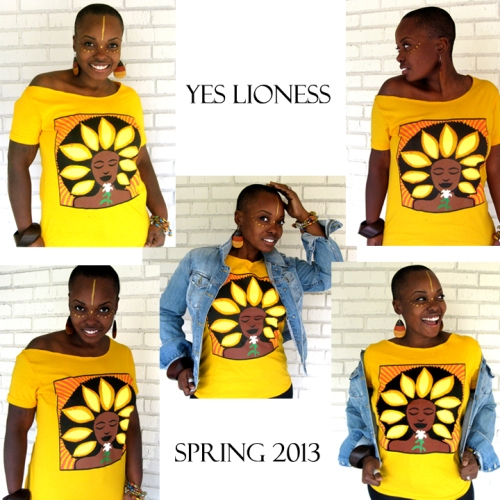 Yes Lioness Spring 2013 ad1