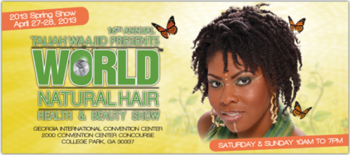 Yes Lioness Will be at The World Natural Hair Show April 27th & 28th