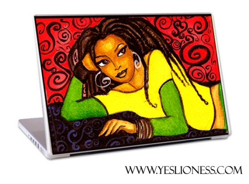 Beautiful Dreamer Laptop skins by Yes Lioness