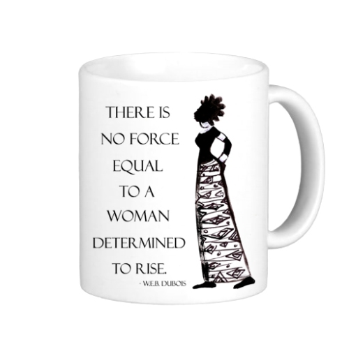 Determined Woman mug by Yes Lioness