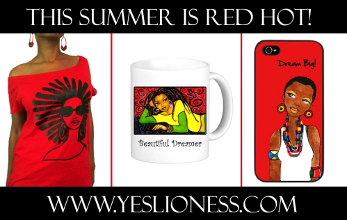 Yes Lioness Red Hot Summer ad