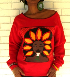 The Soul Flower Tee by Yes Lioness
