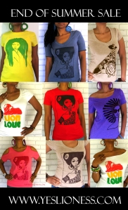 www.yeslioness.com SUMMER SALE COLLAGE