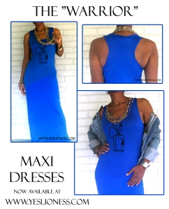 Royal Blue Maxi af by Yes Lioness