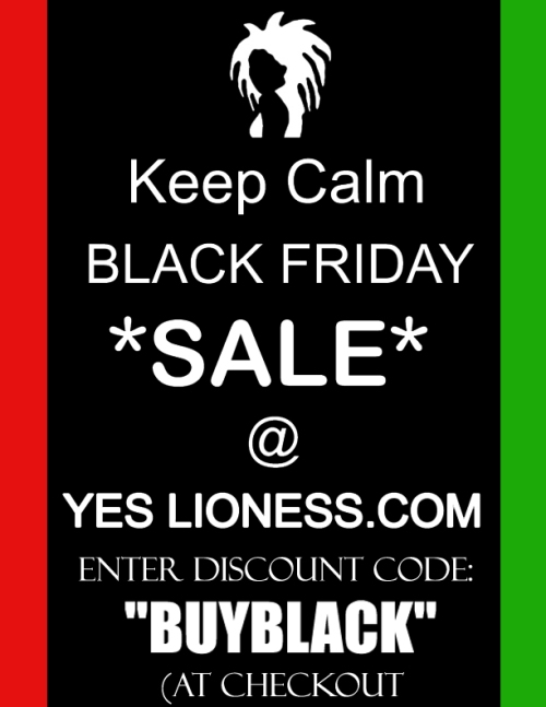 Yes Lioness Black Friday Ad FB copy