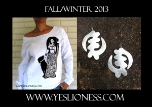 Yes Lioness Fall 2013 Silver Grey Ad