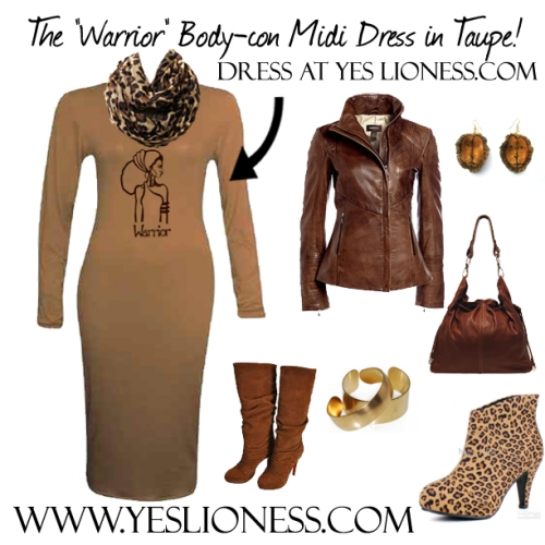 Warrior Dress polyvore