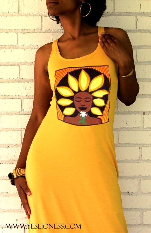 Sunflower Maxi Dress by Yes Lioness.Com 6