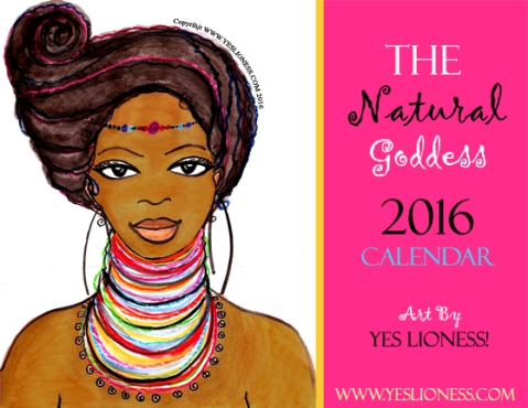 The Natural Goddess 2016 Calendar web